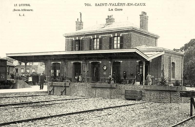 La gare de Saint Valéry en Caux St_val17