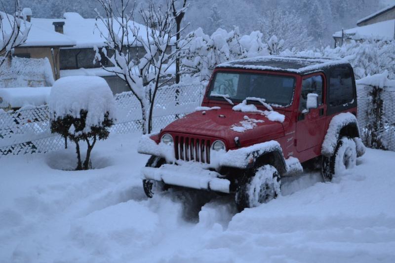 TJ on the snow! Dsc_0013