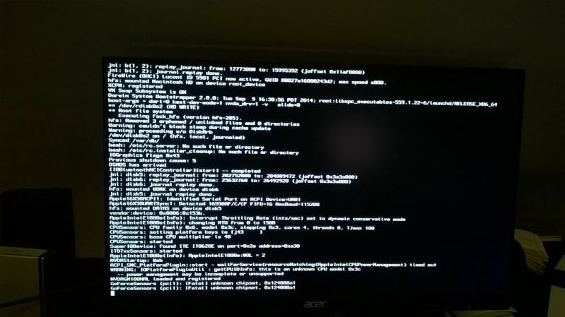 Paramétrage de la Nvidia GTX980 avec Yosemite Wp_20111