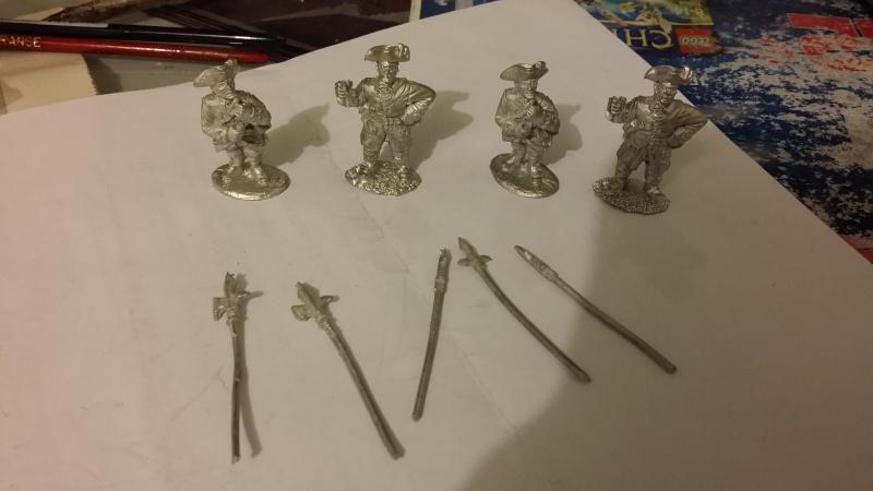 VENTE lot mousquet et tomahawk armée complète français Comman10