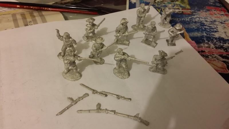 VENTE lot mousquet et tomahawk armée complète français Milici10