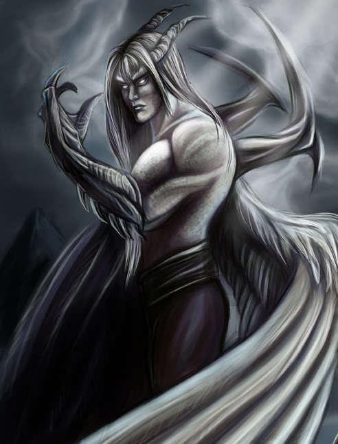 47th Djinn Vual, Djinn of Night and Stealing Lucife10