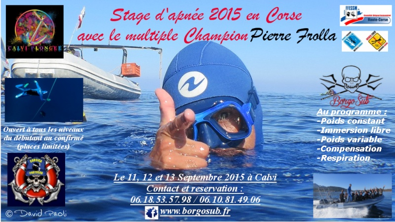 Stage d'apnée 2015 à Calvi avec Pierre Frolla et Borgosub Frolla11