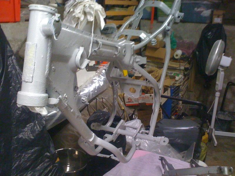 Restauration Yamaha dtmx 50 5n6 de 81. Cadre_10