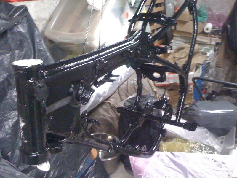 Restauration Yamaha dtmx 50 5n6 de 81. Cadre_11