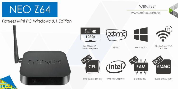 MINIX NEO Z64 , sistema Windows 8.1 Minix_10