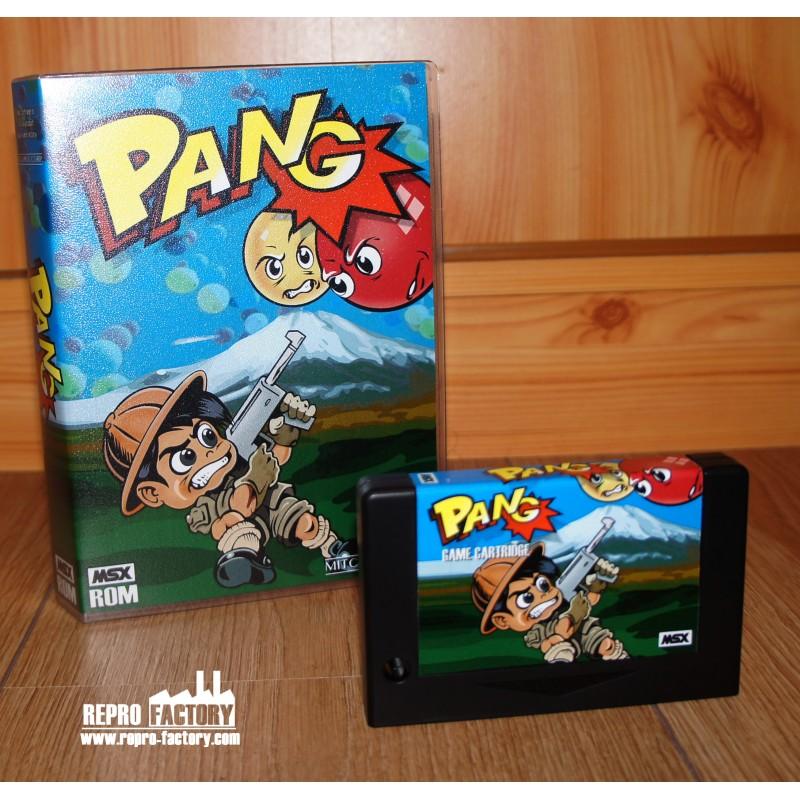 Pang pour MSX Pang-10