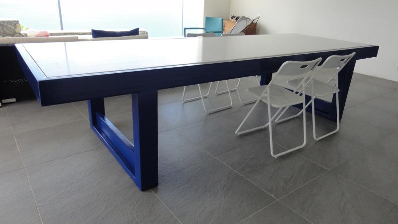 [TERMINE] Fabrication table en bois peint - polycarbonate pour terrasse - Page 2 Dsc00625
