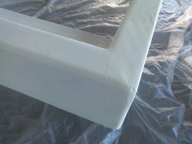 [TERMINE] Fabrication table en bois peint - polycarbonate pour terrasse Img_2044