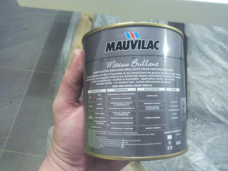[TERMINE] Fabrication table en bois peint - polycarbonate pour terrasse Img_2051