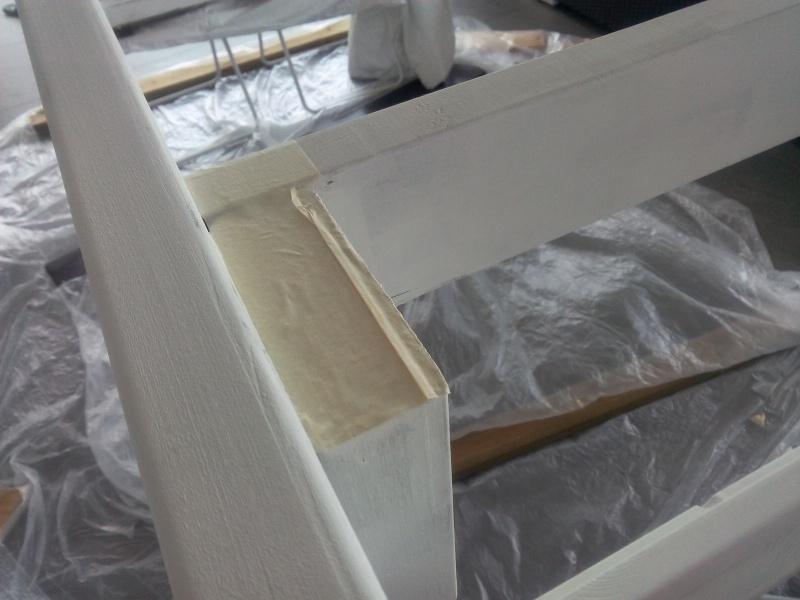 [TERMINE] Fabrication table en bois peint - polycarbonate pour terrasse Img_2056