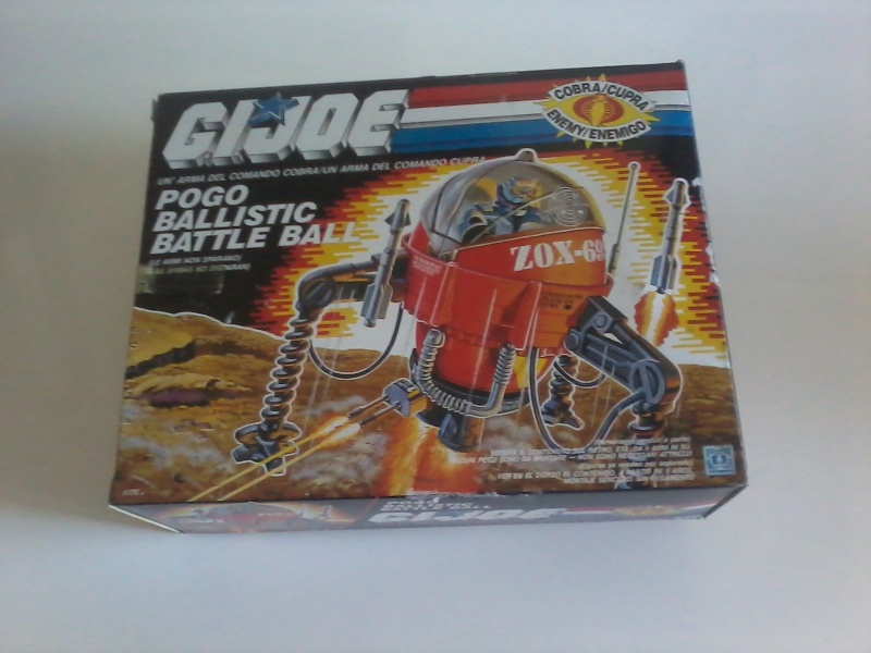 Gi Joe Pogo Ballistic Battle Ball Nuovo In Scatola 2015-015