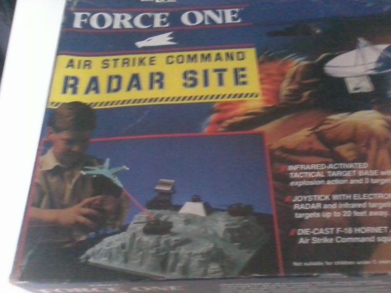 Force One Air Strike Command Radar Site Nuovo Mai Usato 2015-028