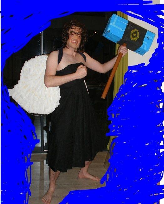 [REALISATION] Défi de la robe avec les ailes de Cupid et le marteau de Thor Nocif_16