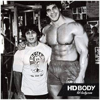 Danny Padilla & Lou Ferrigno! 10407410