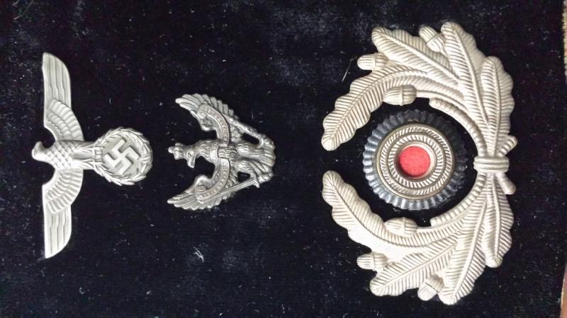 casquette cavalerie avec insigne  20140210