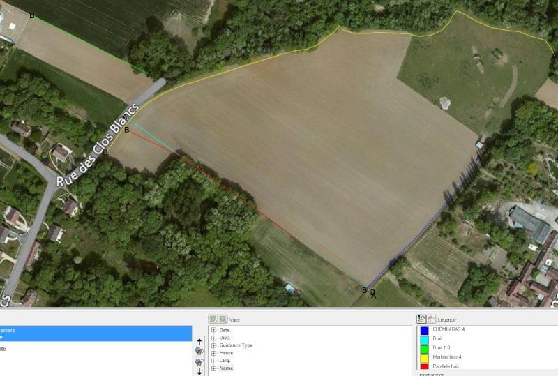 Outil de gestion des lignes de guidage Farmwo11