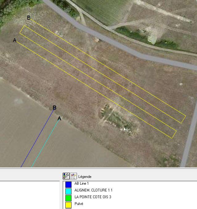 Outil de gestion des lignes de guidage Farmwo12