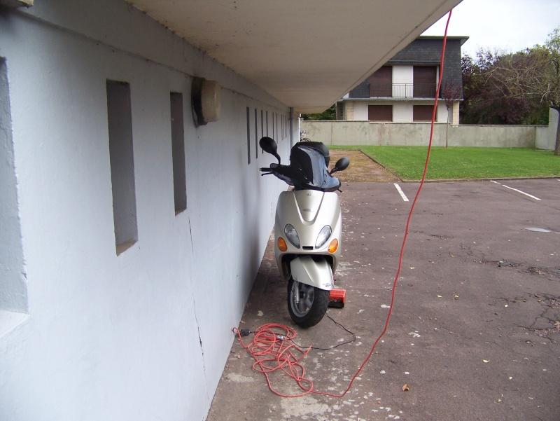 présentation de mon scooter skyliner platinium 125CM3 103_1720