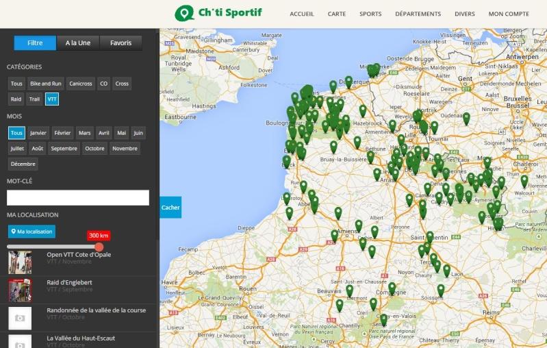 Ch'ti Sportif : sports nature dans le Nord Carte10