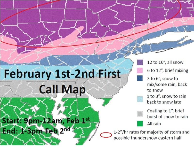 Update #2: 1st Call Snow Map, Intense Winter Storm Coming  - Page 2 Feb1-210