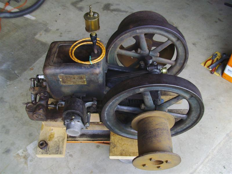 My 1922 Witte Model B 2HP  Witte_11