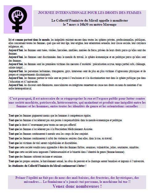 Manif Journée internationale du droit de la femme 11046910