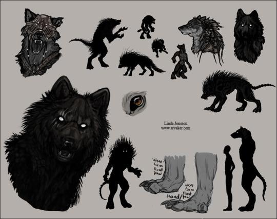 """Garou"" / Jaggyd / that werewolf thing Arf10"