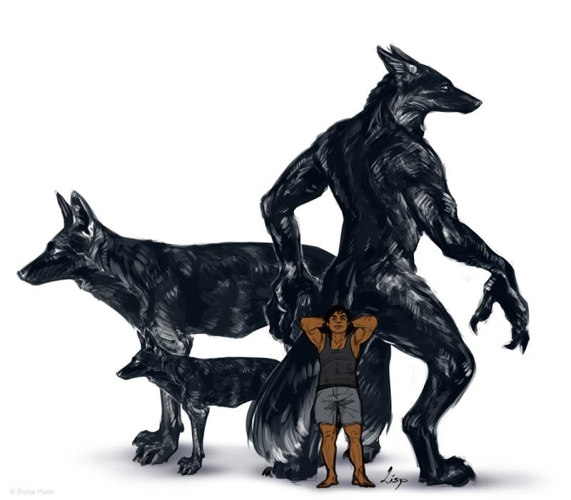 """""""Garou"""" / Jaggyd / that werewolf thing Tumblr11"""