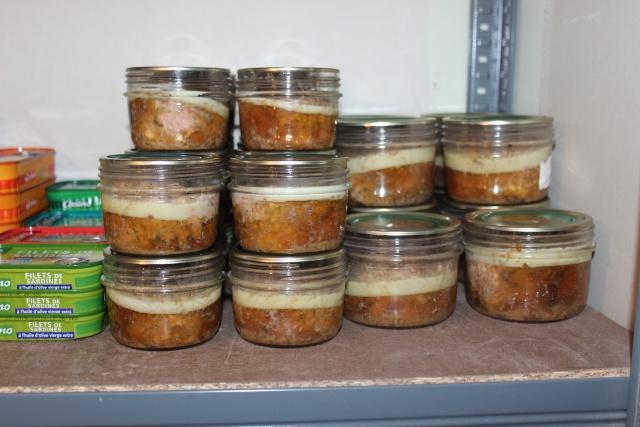 Stérilisation bocaux pâté au feu de bois Img_6117