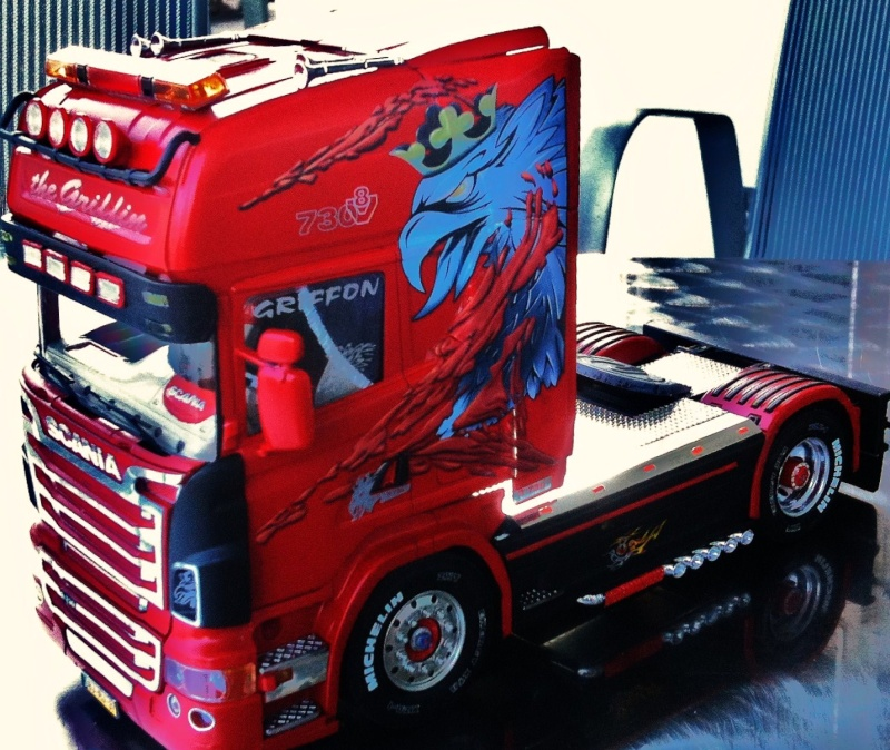 Na dann...  Scania R730 und Scania Black Amber Scania28