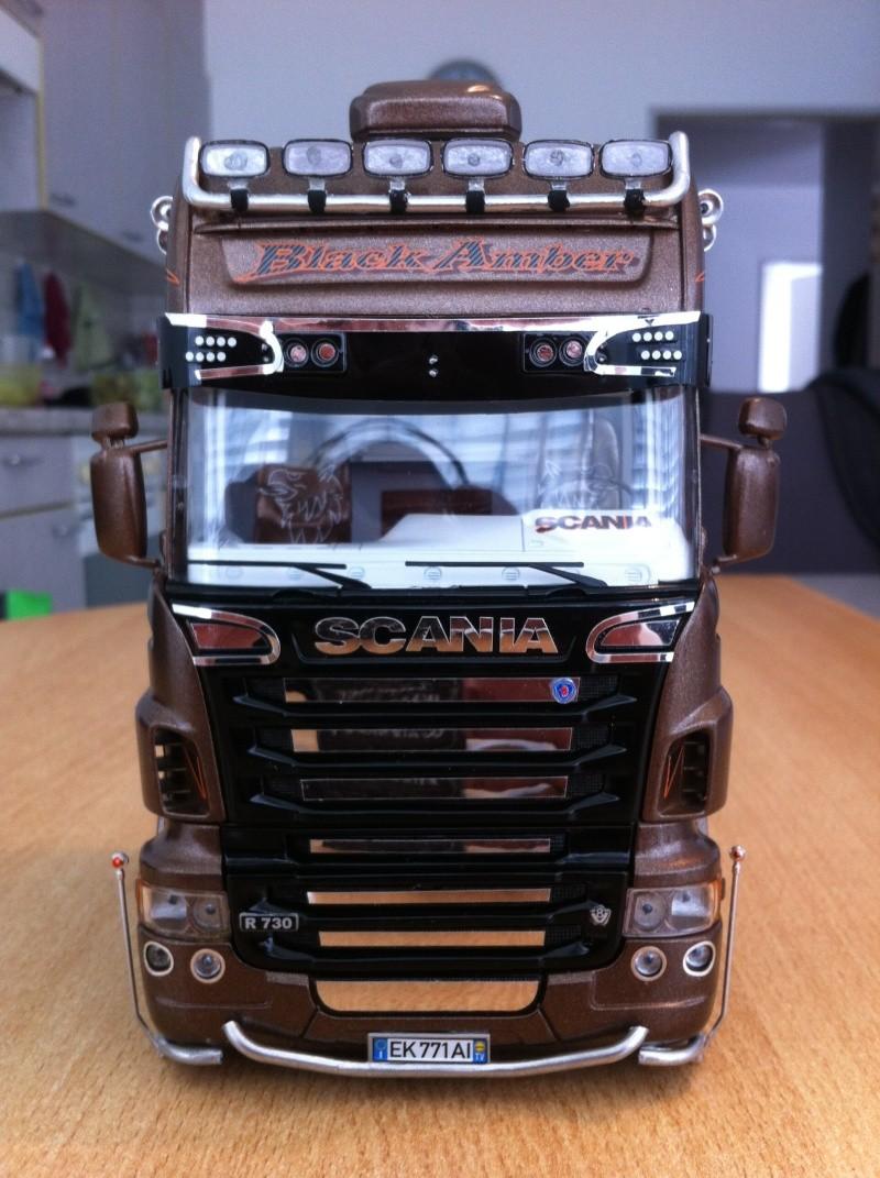 Na dann...  Scania R730 und Scania Black Amber Scania30