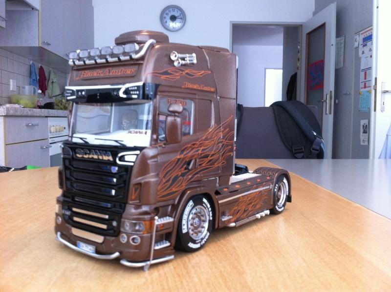 Na dann...  Scania R730 und Scania Black Amber Scania32