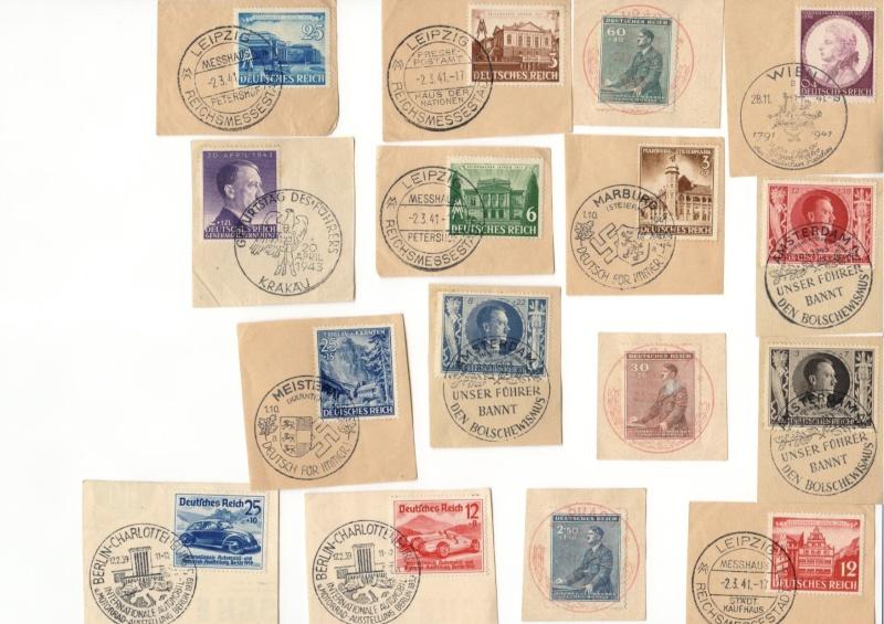 Marken Deutsches Reich  Scan0012