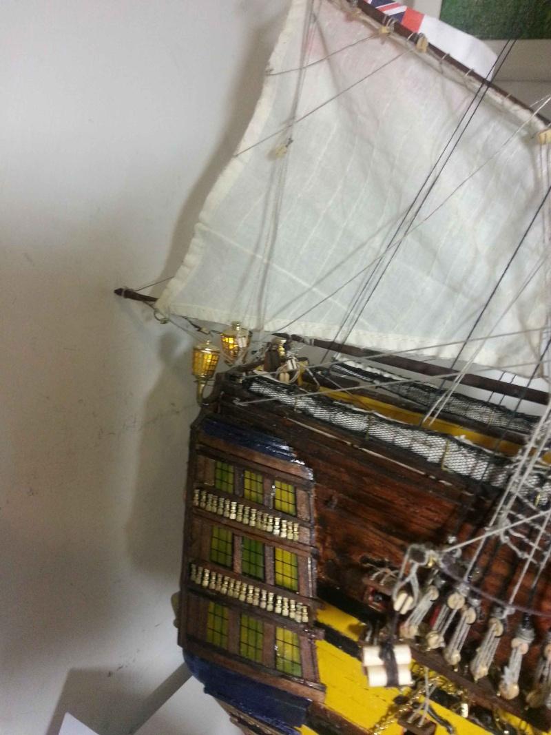 HMS Victory: primo lavoro Fanali11