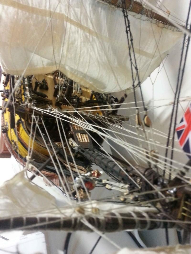 HMS Victory: primo lavoro Prua14