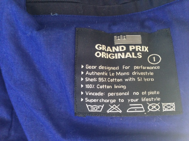 "Blouson gulf "" Grand Prix "" Taille M Img_8612"