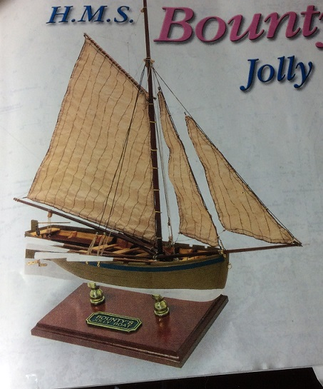 Barque Jolly Boat du Bounty (Artesania Latina 1/25°) de Contrôleur - Page 2 Bounty10