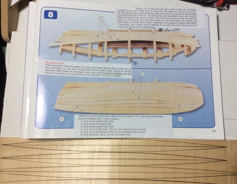 HMS Bounty's jolly boat 1/25ieme de artesania latina Plans_12