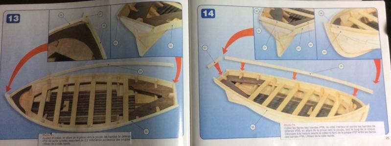 HMS Bounty's jolly boat 1/25ieme de artesania latina Plans_15