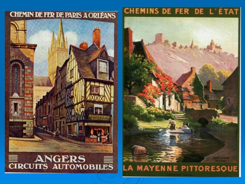 Affiches Ferroviaires de Bretagne et de l'Ouest Diapos10