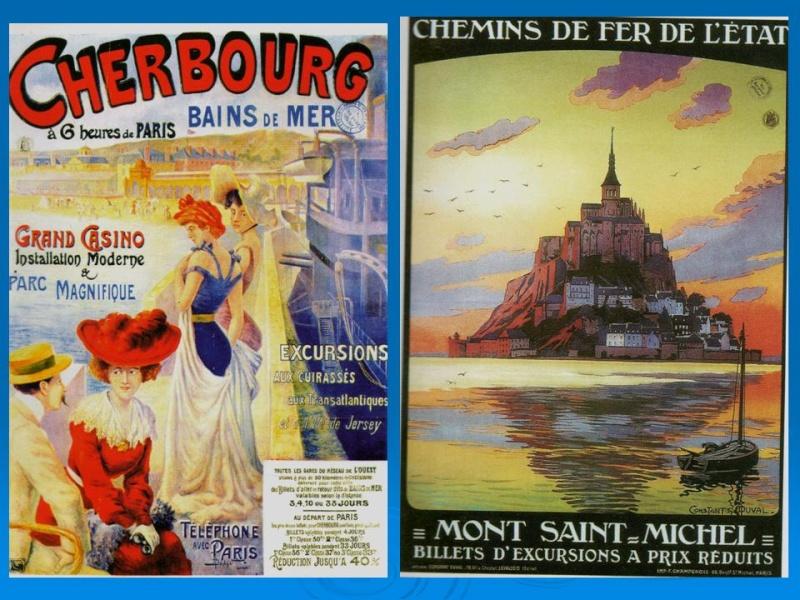 Affiches Ferroviaires de Bretagne et de l'Ouest Diapos11