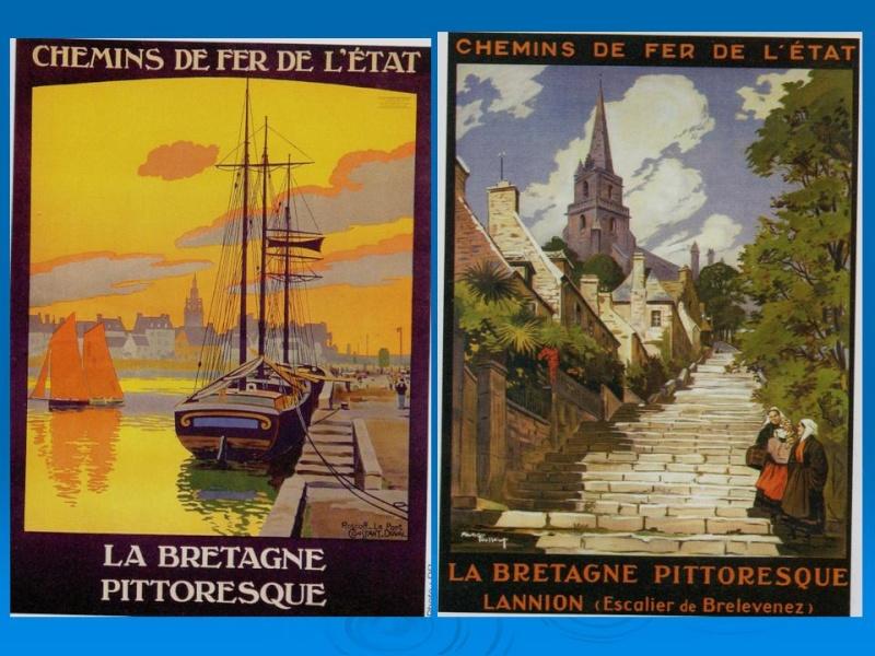 Affiches Ferroviaires de Bretagne et de l'Ouest Diapos12
