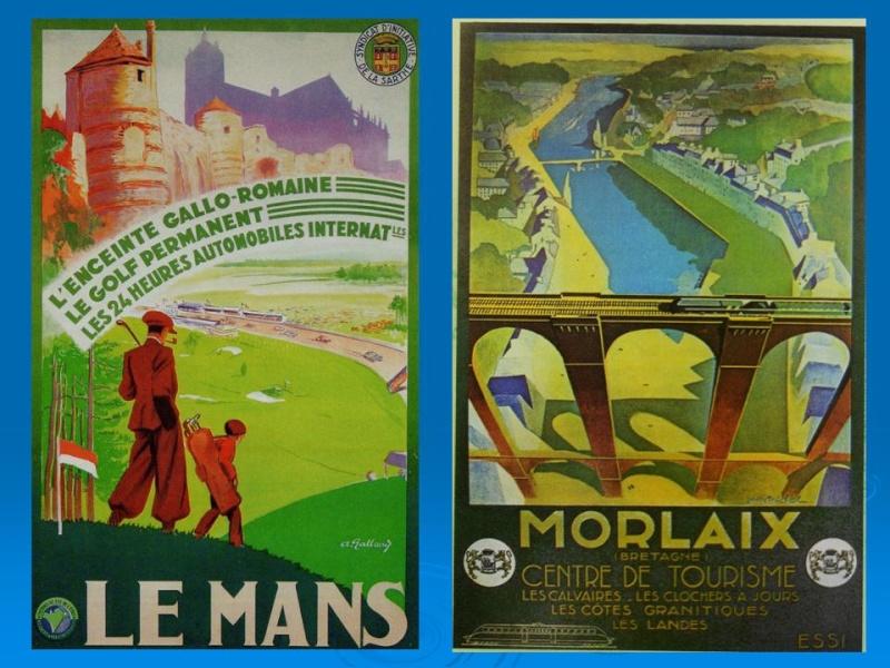 Affiches Ferroviaires de Bretagne et de l'Ouest Diapos13