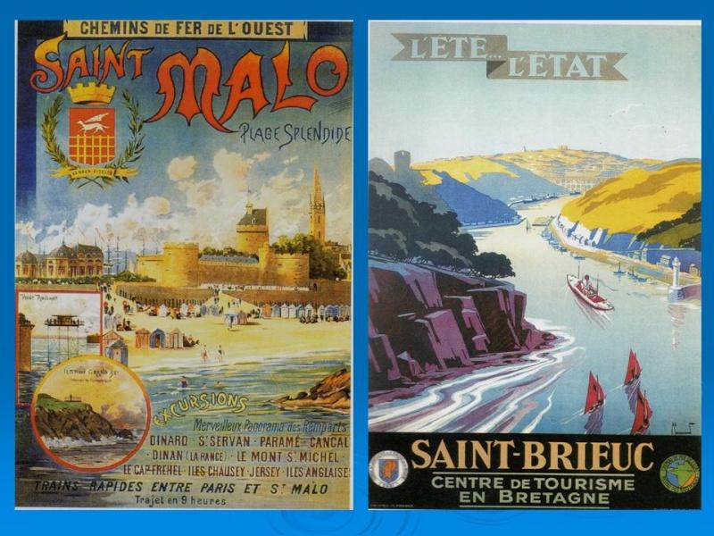 Affiches Ferroviaires de Bretagne et de l'Ouest Diapos15