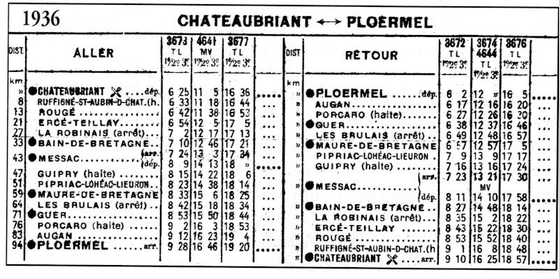 Châteaubriant - Ercé-Teillay - Messac Horair10