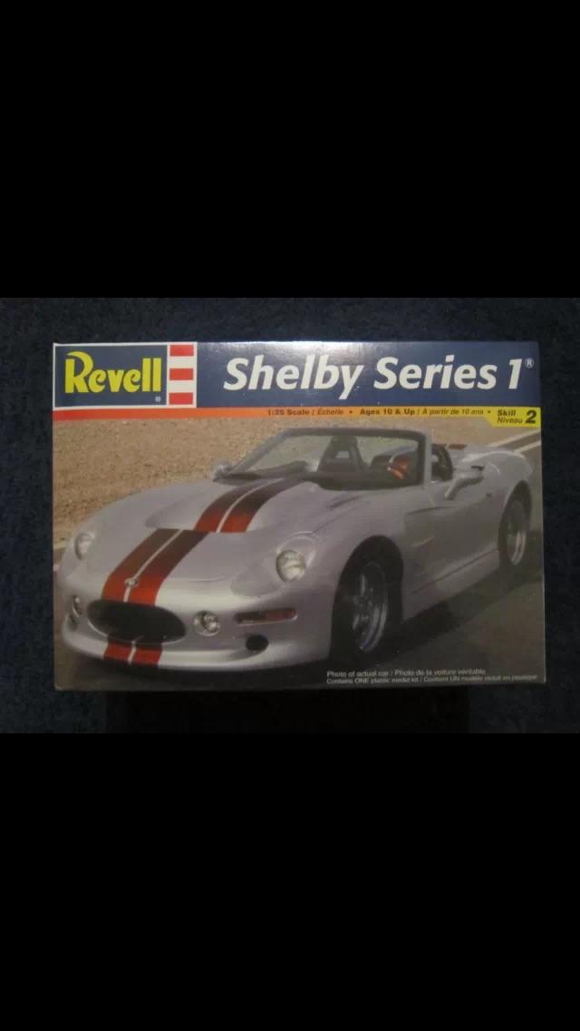 Recherche Kit Revell Shelby Series1 1/25 Image10