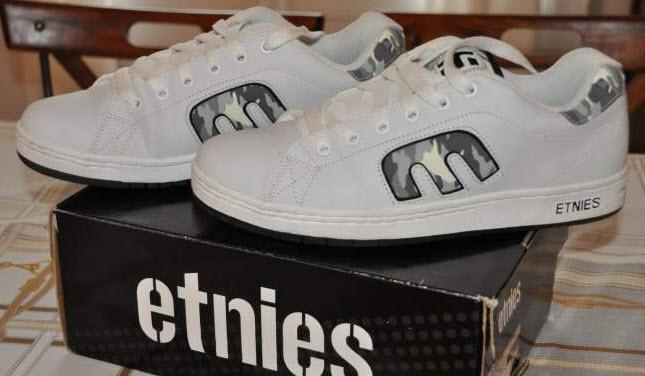 Vends ETNIES Callicut White Camouflage - P 45 Etnies10