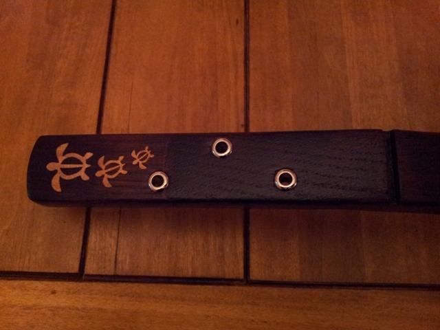 Fabrication « License plate guitar 3 cordes » mode d'emploi (guitare dérivée des CBG) 20141216