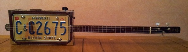 Fabrication « License plate guitar 3 cordes » mode d'emploi 20150217